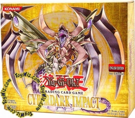 YuGiOh GX Cyberdark Impact 1st EDITION Booster Box [24 Packs]