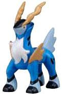 Pokemon TOMY LOOSE 2 Inch Basic Figure Cobalion [Includes Pokedex ID Tag!]