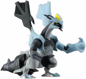 Pokemon TOMY LOOSE 4 Inch Basic Figure Black Kyurem [Includes Pokedex ID Tag!]
