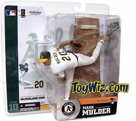 McFarlane Toys MLB Sports Picks Series 10 Action Figure Mark Mulder (Oakland Athletics) White Jersey Variant
