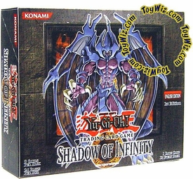 YuGiOh Shadow of Infinity 1st EDITION Booster BOX [24 Packs]
