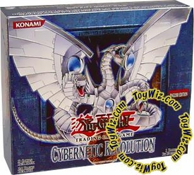 YuGiOh Cybernetic Revolution Booster Box [24 Packs]