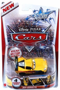 Disney / Pixar CARS Stunt Racers Jeff Gorvette