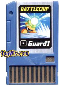 Mega Man Battle Chip #188 Guard 1