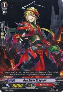 Cardfight Vanguard ENGLISH Resonance of the Thunder Dragon Single Card Fixed TD06-008EN Red River Dragoon