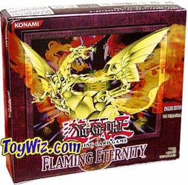 YuGiOh Flaming Eternity Unlimited Booster BOX [24 Packs]