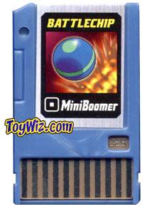 Mega Man Battle Chip #029 MiniBoomer