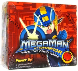 Mega Man NT Warrior Trading Card Game Power Up! Booster Box [24 Packs] BLOWOUT SALE!
