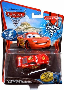 Disney / Pixar CARS 2 Movie 1:55 Exclusive Charge Ups Car Lightning McQueen