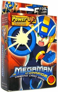 Mega Man NT Warrior Trading Card Game Power Up! Starter Deck Megaman BLOWOUT SALE!