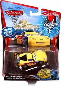 Disney / Pixar CARS 2 Movie 1:55 Exclusive Charge Ups Car Jeff Gorvette
