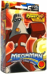 Mega Man NT Warrior Trading Card Game Power Up! Starter Deck Torchman BLOWOUT SALE!
