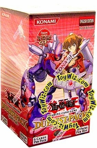 YuGiOh GX Jaden Yuki 1st EDITION Duelist Booster Box [30 Packs]