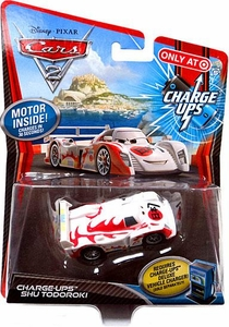 Disney / Pixar CARS 2 Movie 1:55 Exclusive Charge Ups Car Shu Todoroki