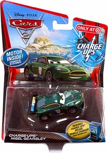 Disney / Pixar CARS 2 Movie 1:55 Exclusive Charge Ups Car Nigel Gearsley