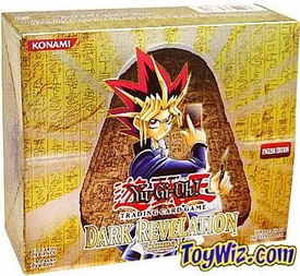 YuGiOh Dark Revelation Volume 1 Booster BOX [24 Packs]