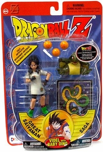 Dragon Ball Z Series 8 Great Saiyaman Saga Action Figure Videl with Baby Dino
