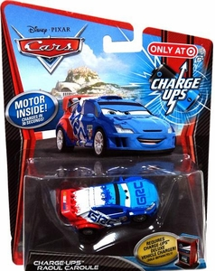 Disney / Pixar CARS 2 Movie 1:55 Exclusive Charge Ups Car Raoul Caroule