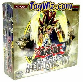 YuGiOh Ancient Sanctuary 1st EDITION Booster BOX [24 Packs]