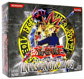 YuGiOh Invasion of Chaos Booster BOX [24 Packs]