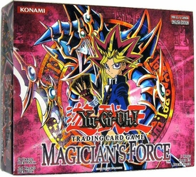 YuGiOh Magician's Force Booster Box [24 Packs]