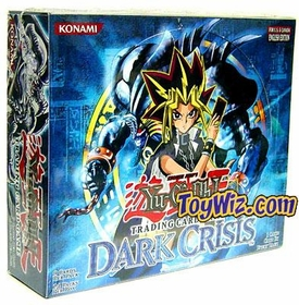 YuGiOh Dark Crisis 1st EDITION Booster Box [24 Packs]