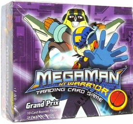 Mega Man NT Warrior Trading Card Game Grand Prix Booster Box [24 Packs] BLOWOUT SALE!