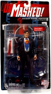 DC Direct Secret Files Series 2 Unmasked Action Figure Clark Kent / Superman
