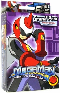 Mega Man NT Warrior Trading Card Game Grand Prix Starter Deck Protoman BLOWOUT SALE!