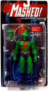 DC Direct Secret Files Series 2 Unmasked Action Figure J'onn J'onzz / Martian Manhunter
