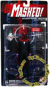 DC Direct Secret Files Series 2 Unmasked Action Figure Joker / Red Hood