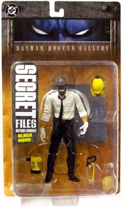 DC Direct Secret Files Batman Rogues Gallery Action Figure Black Mask