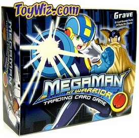 Mega Man NT Warrior Trading Card Game Grave Booster BOX [24 Packs]