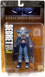 DC Direct Secret Files Batman Rogues Gallery Action Figure Mr. Freeze