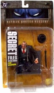 DC Direct Secret Files Batman Rogues Gallery Action Figure The Penguin