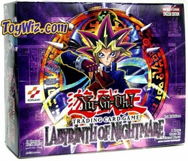 YuGiOh Labyrinth of Nightmare 1st EDITION Booster Box [24 Packs]