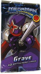 Mega Man NT Warrior Trading Card Game Grave Booster Pack BLOWOUT SALE!