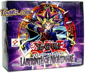 YuGiOh Labyrinth of Nightmare Booster Box [24 Packs]