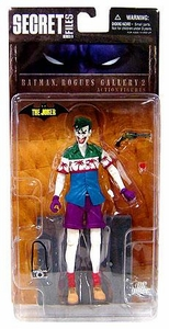DC Direct Secret Files Series 3: Batman Rogues Gallery 2 Action Figure The Joker