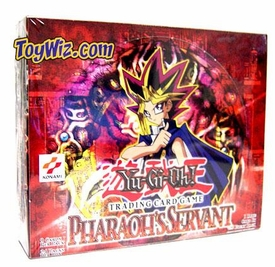 YuGiOh Pharaoh's Servant Booster BOX [24 Packs]