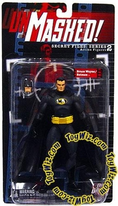 DC Direct Secret Files Series 2 Unmasked Action Figure Batman / Bruce Wayne