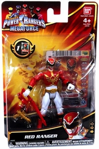 Power Rangers Megaforce Basic Action Figure Normal Red Ranger
