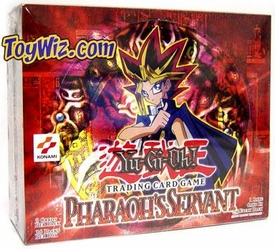 YuGiOh Pharaoh's Servant 1st EDITION Booster BOX [36 Packs]