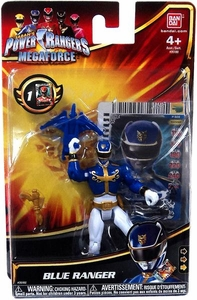 Power Rangers Megaforce Basic Action Figure Normal Blue Ranger