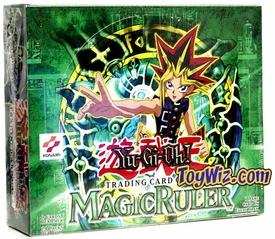 YuGiOh Magic Ruler 1st EDITION Booster Box [24 Packs]