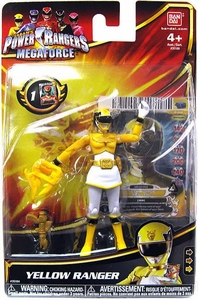 Power Rangers Megaforce Basic Action Figure Normal Yellow Ranger