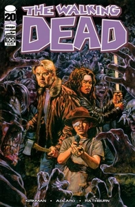 Image Comic Books The Walking Dead #100 Sean Phillips Cover