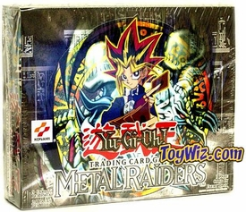 YuGiOh Metal Raiders 1st EDITION Booster BOX [24 Packs]