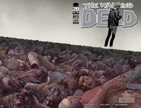 Image Comic Books The Walking Dead #100 Wraparound Cover [Charlie Adlard]
