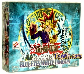 YuGiOh Legend of Blue Eyes White Dragon Booster Box [24 Packs] Impossible to Find!